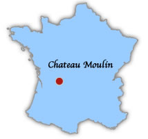 Chateau Moulin fishing holidays Limoges Limousin region France
